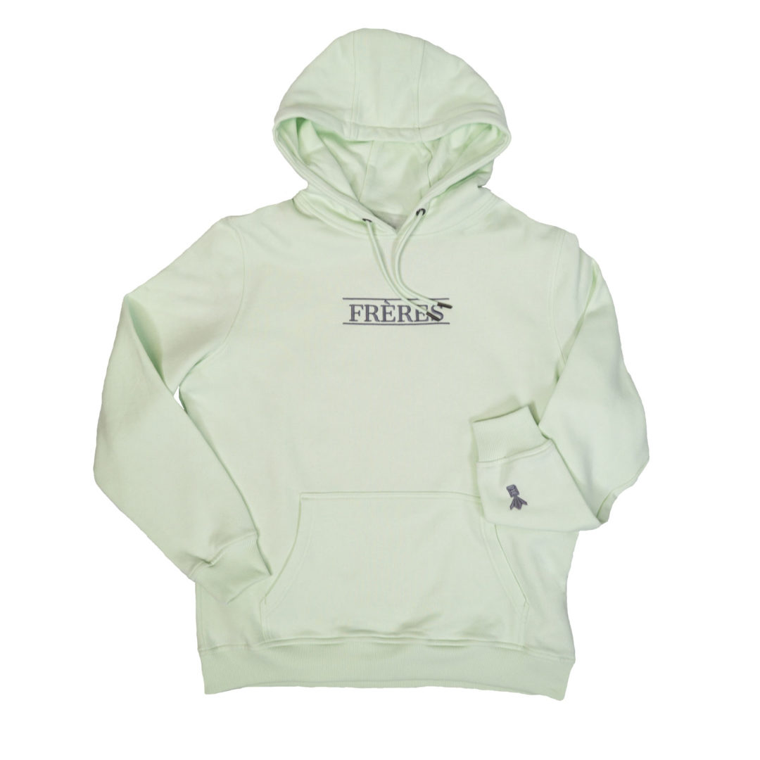 FRÈRES Hoodie Light Mint