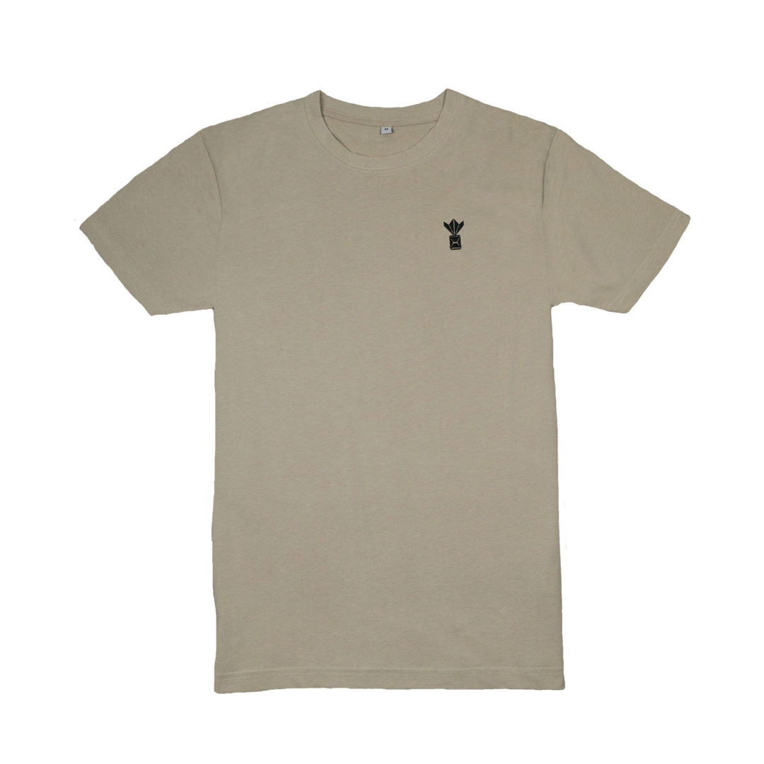 FRÈRES Long T-Shirt Crew neck Cream